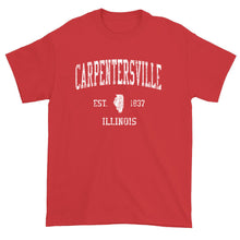 Vintage Carpentersville Illinois IL T-Shirt Adult