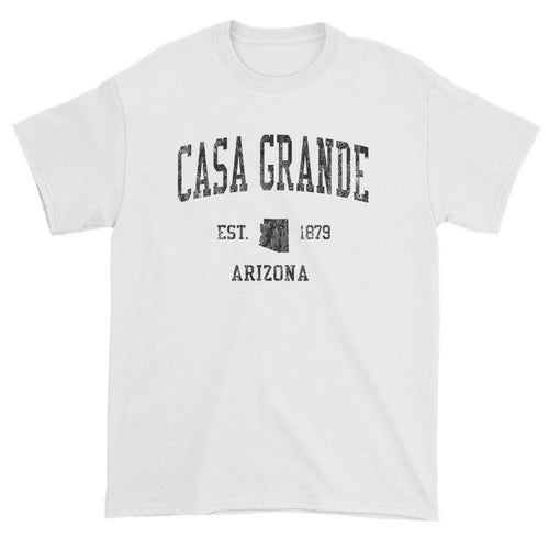 Vintage Casa Grande Arizona AZ T-Shirts Red Print