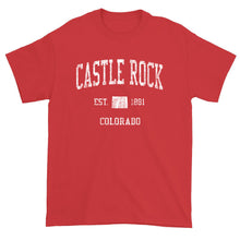 Vintage Castle Rock Colorado CO T-Shirt Adult