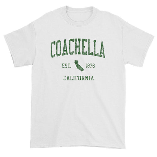 Vintage Coachella California CA T-Shirts Red Print