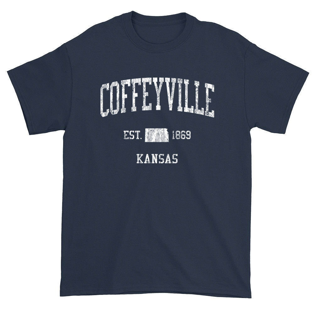 Vintage Coffeyville Kansas KS T-Shirts