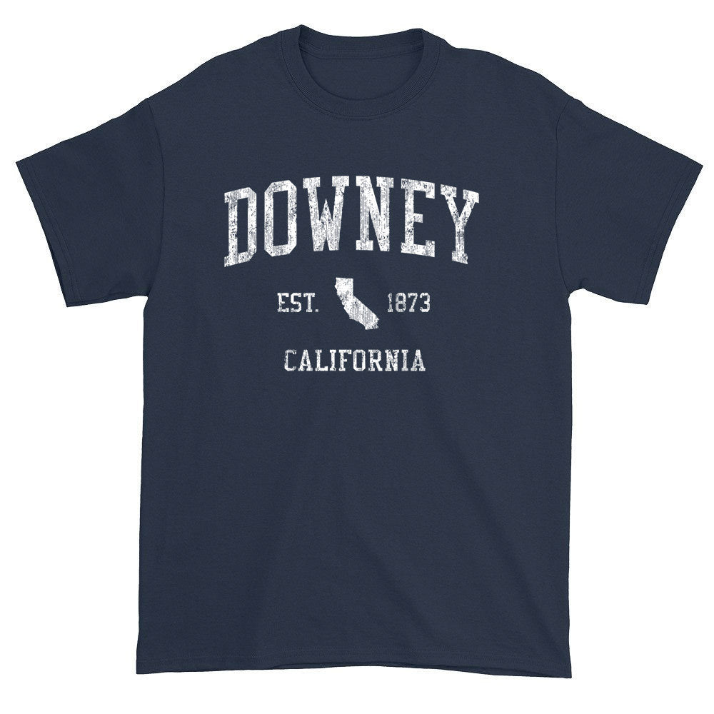 Vintage Downey California CA T-Shirts