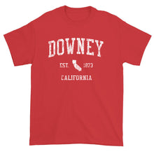 Vintage Downey California CA T-Shirt Adult