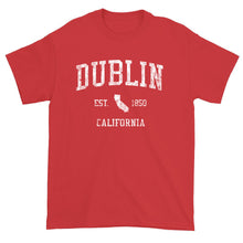 Vintage Dublin California CA T-Shirt Adult