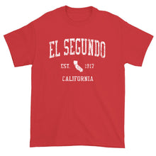 Vintage El Segundo California CA T-Shirt Adult