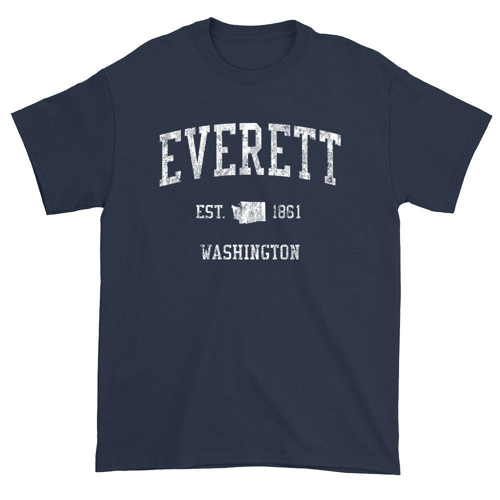 Vintage Everett Washington WA T-Shirts