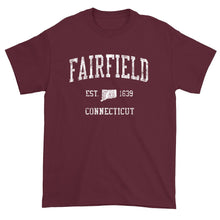 Vintage Fairfield Connecticut CT T-Shirt Adult