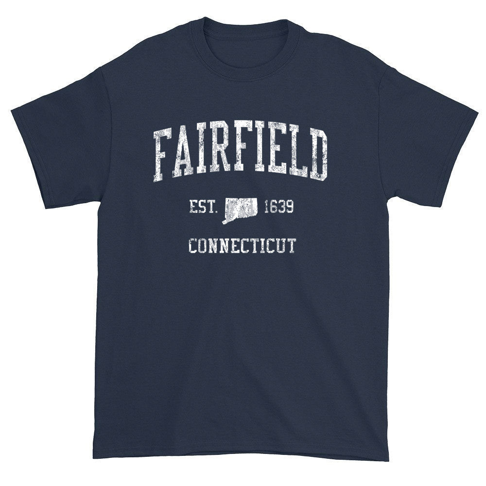 Vintage Fairfield Connecticut CT T-Shirts