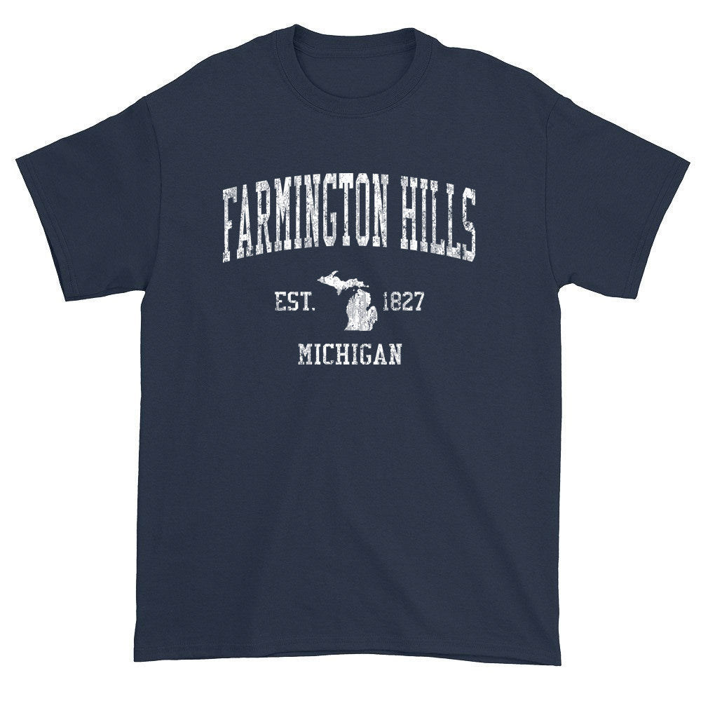 Vintage Farmington Hills Michigan MI T-Shirts