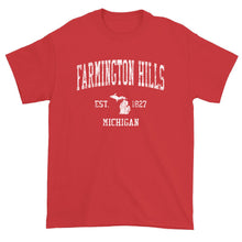 Vintage Farmington Hills Michigan MI T-Shirt Adult