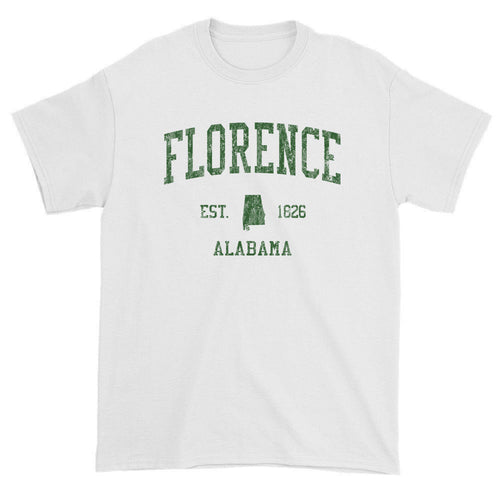 Vintage Florence Alabama AL T-Shirts Red Print