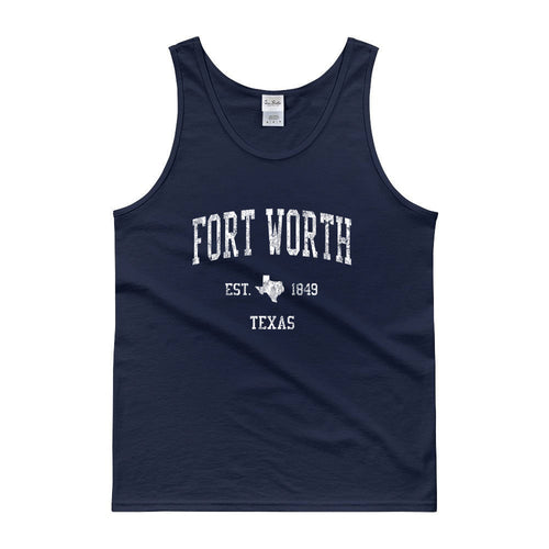 Vintage Fort Worth Texas TX Tank Top Adult