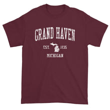 Vintage Grand Haven Michigan MI T-Shirt Adult