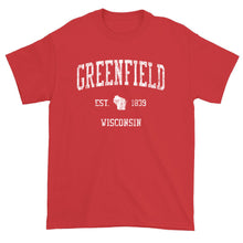 Vintage Greenfield Wisconsin WI T-Shirt Adult