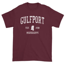 Vintage Gulfport Mississippi MS T-Shirt Adult