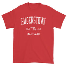 Vintage Hagerstown Maryland MD T-Shirt Adult