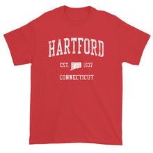 Vintage Hartford Connecticut CT T-Shirt Adult