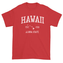 Vintage Hawaii T-Shirt Sports Design Heavy Cotton Adult Tee