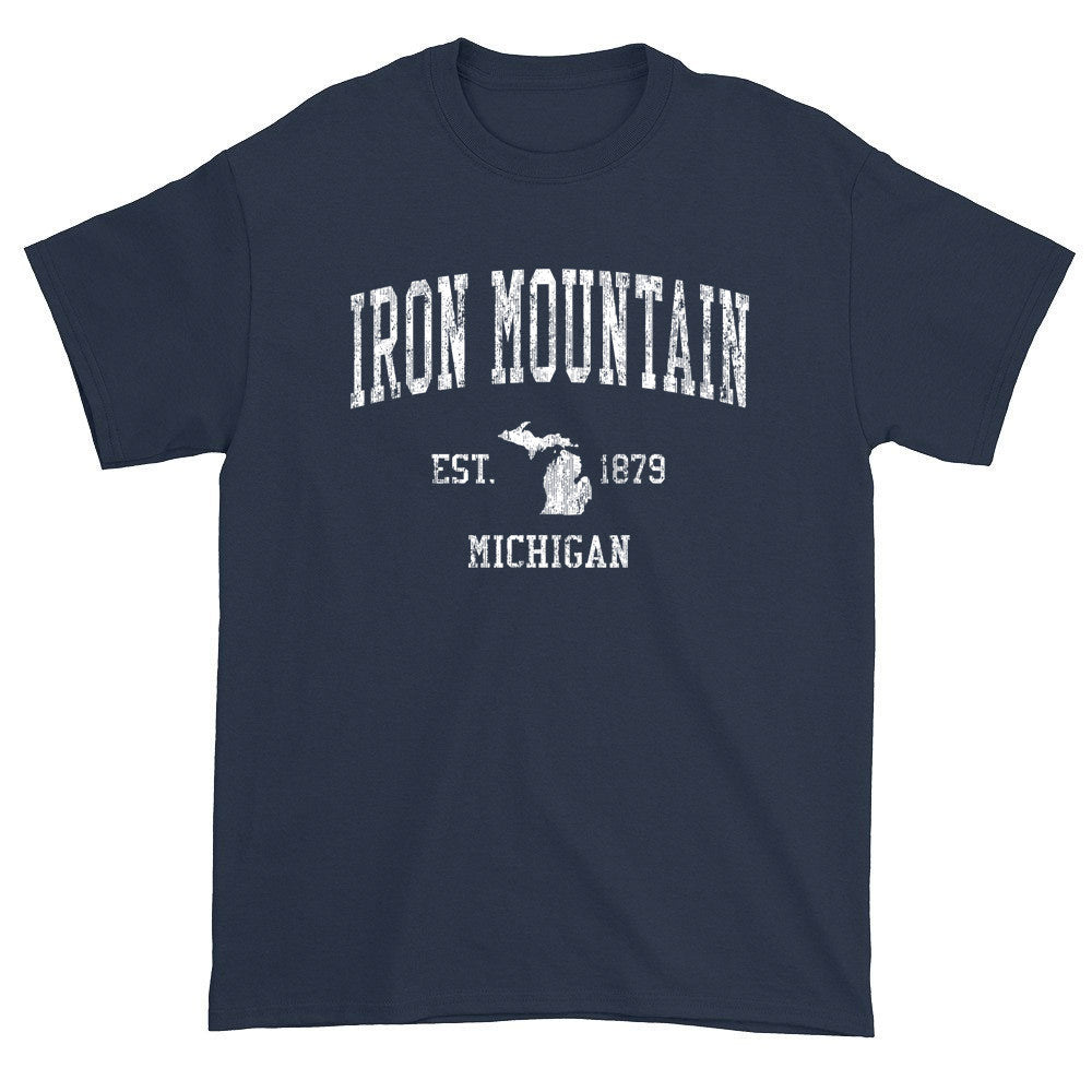 Vintage Iron Mountain Michigan MI T-Shirts