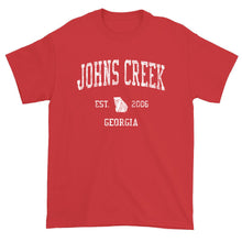 Vintage Johns Creek Georgia GA T-Shirt Adult