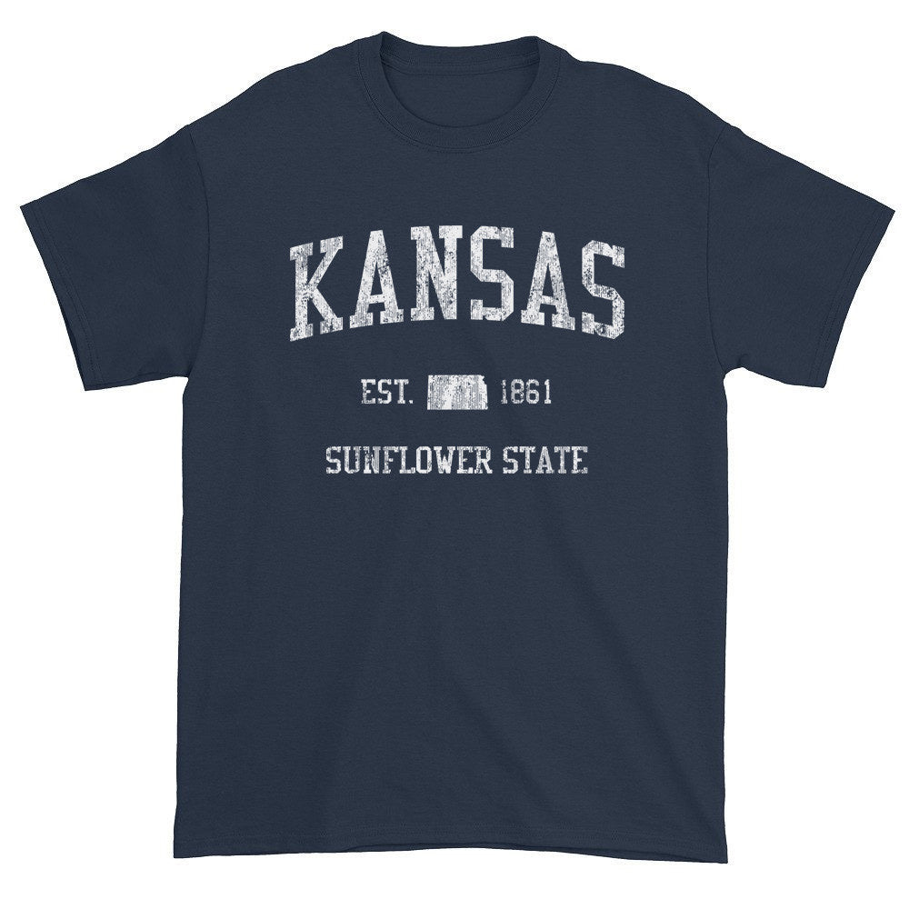 Vintage Kansas KS T-Shirt Adult - JimShorts