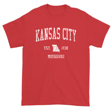 Vintage Kansas City Missouri MO T-Shirt Adult
