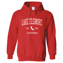 Lake Elsinore California CA Hoodie Vintage Sports Design - Adult (Unisex)