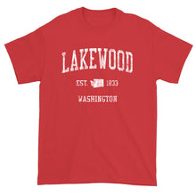 Vintage Lakewood Washington WA T-Shirt Adult