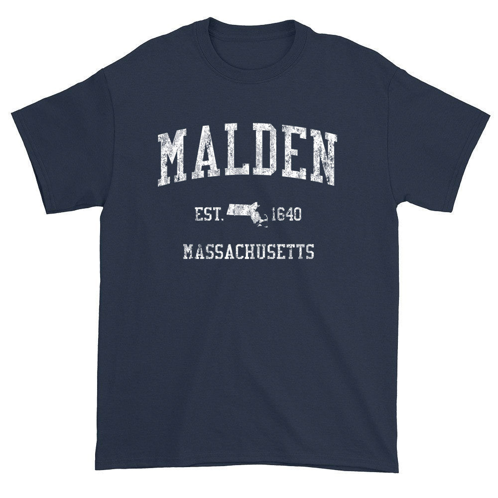 Vintage Malden Massachusetts MA T-Shirts