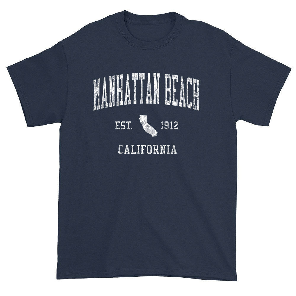 Vintage Manhattan Beach California CA T-Shirts