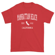 Vintage Manhattan Beach California CA T-Shirt Adult