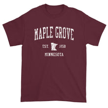 Vintage Maple Grove Minnesota MN T-Shirt Adult