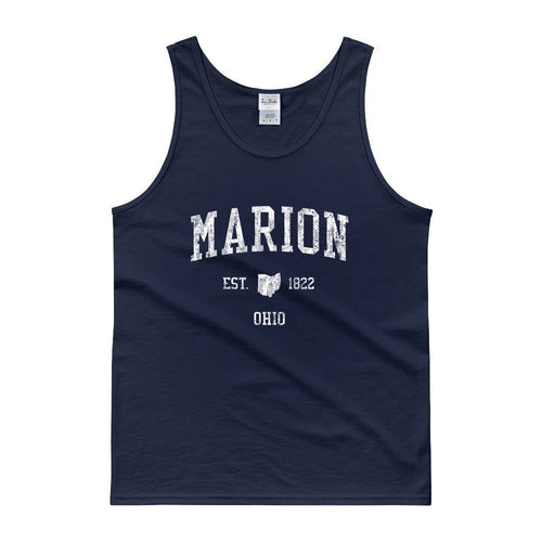 Vintage Marion Ohio OH Tank Top Adult