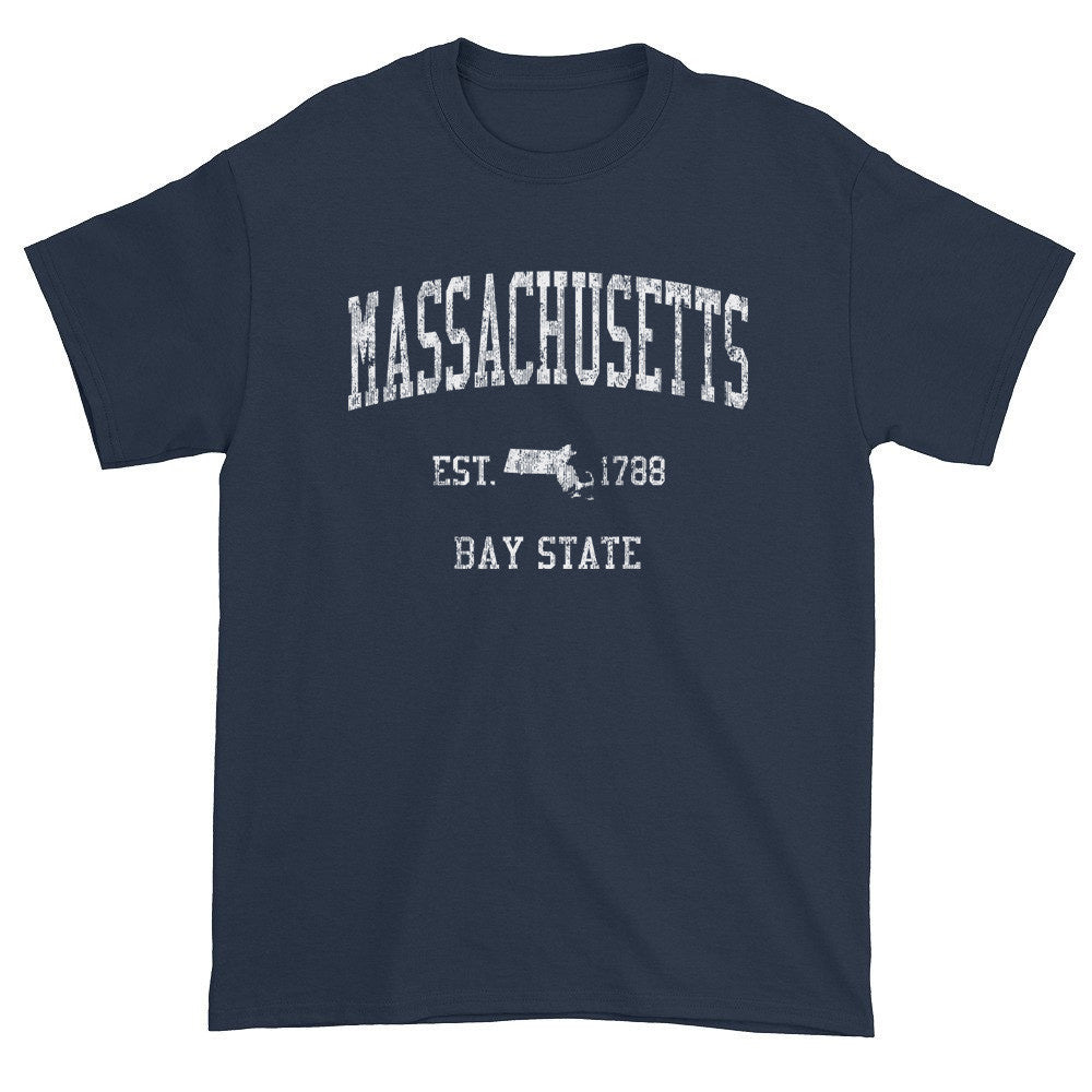 Vintage Massachusetts MA T-Shirt Adult - JimShorts