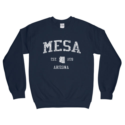 Mesa Arizona AZ Sweatshirt Vintage Sports Design - Adult (Unisex)