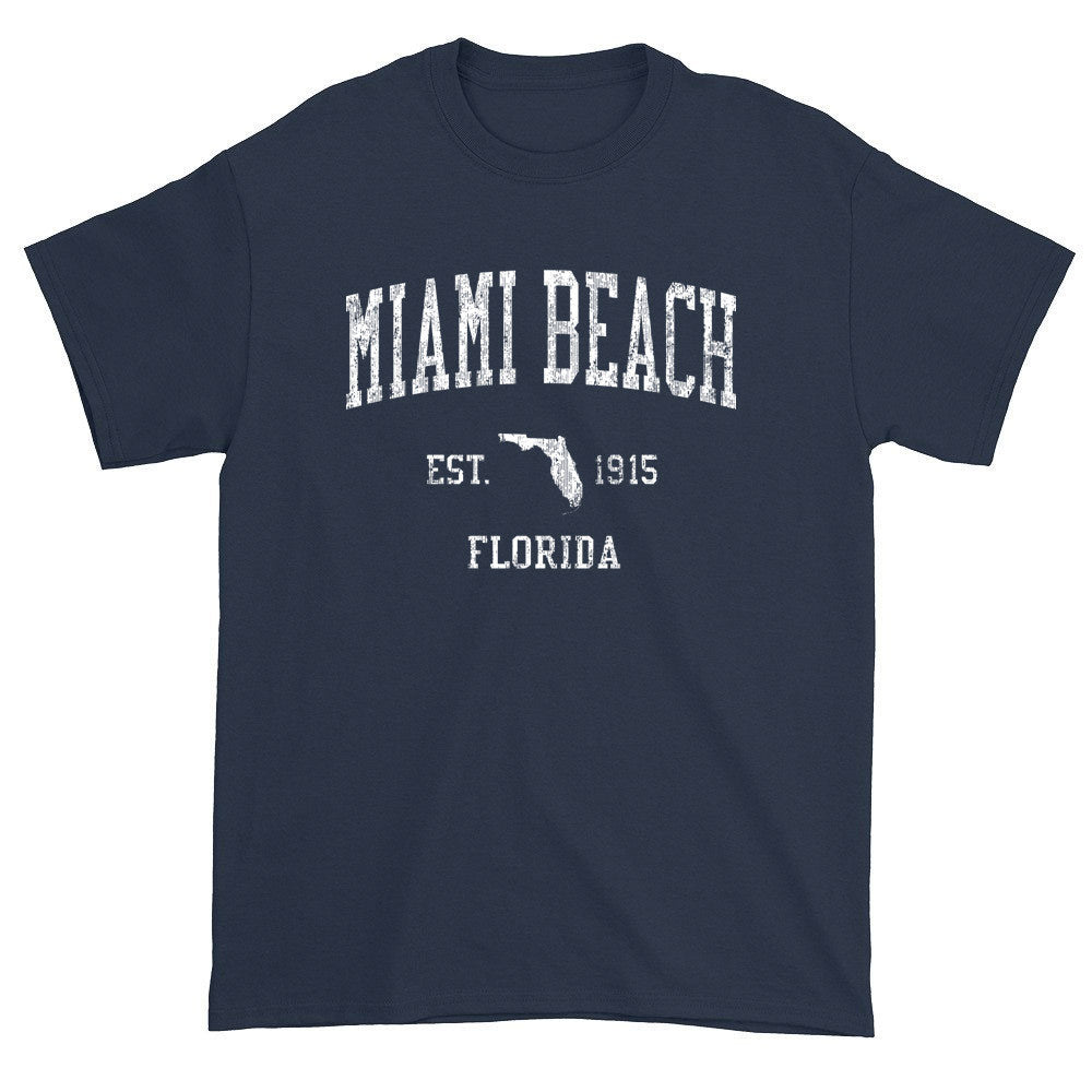 Vintage Miami Beach Florida FL T-Shirts