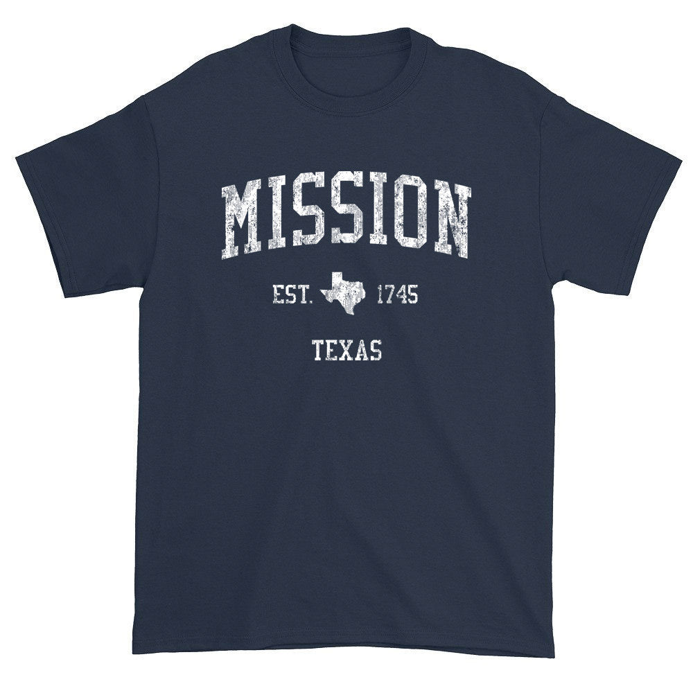Vintage Mission Texas TX T-Shirts