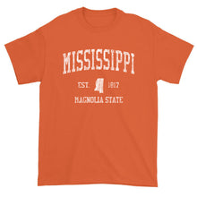 Vintage Mississippi T-Shirt Sports Design Heavy Cotton Adult Tee
