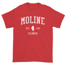 Vintage Moline Illinois IL T-Shirt Adult