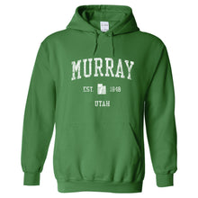 Murray Utah UT Hoodie Vintage Sports Design - Adult (Unisex)