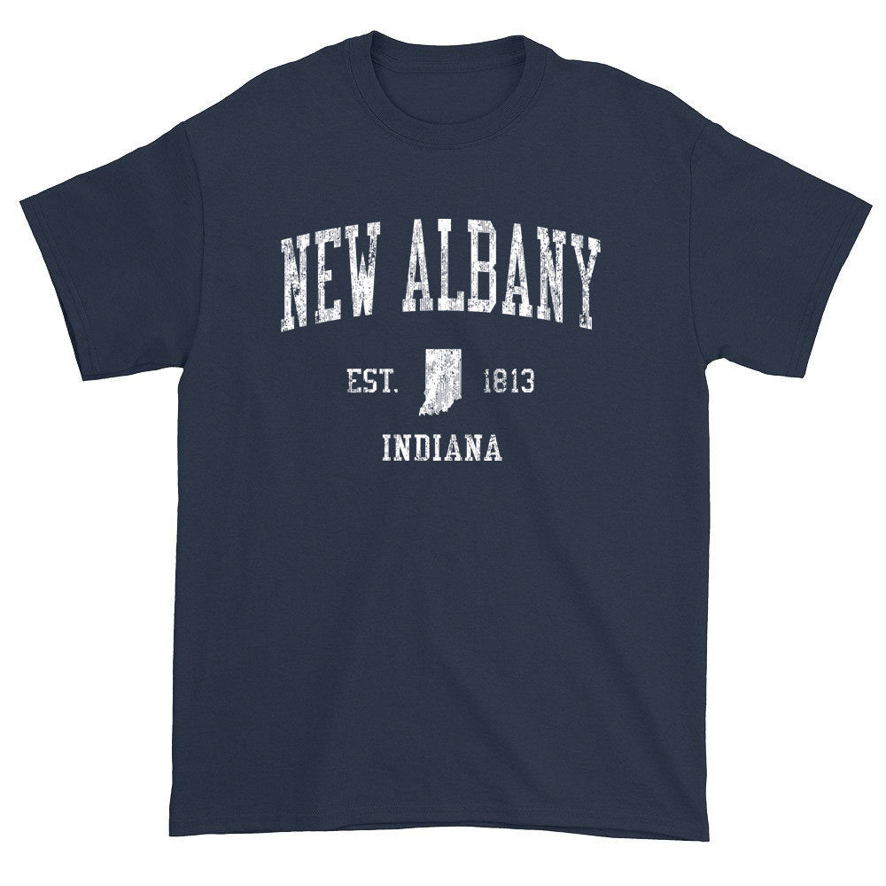 Vintage New Albany Indiana IN T-Shirts