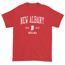 Vintage New Albany Indiana IN T-Shirt Adult