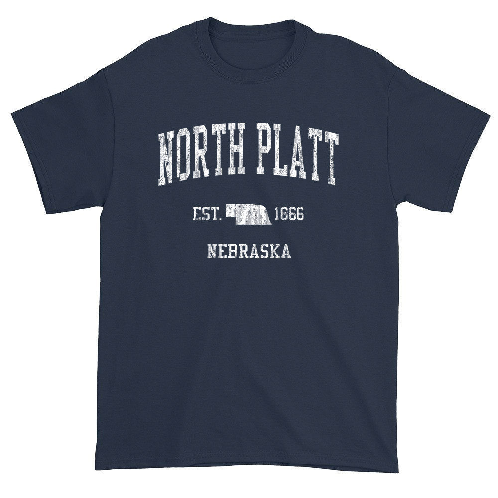 Vintage North Platt Nebraska NE T-Shirts