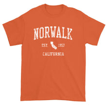 Vintage Norwalk California CA T-Shirt Adult