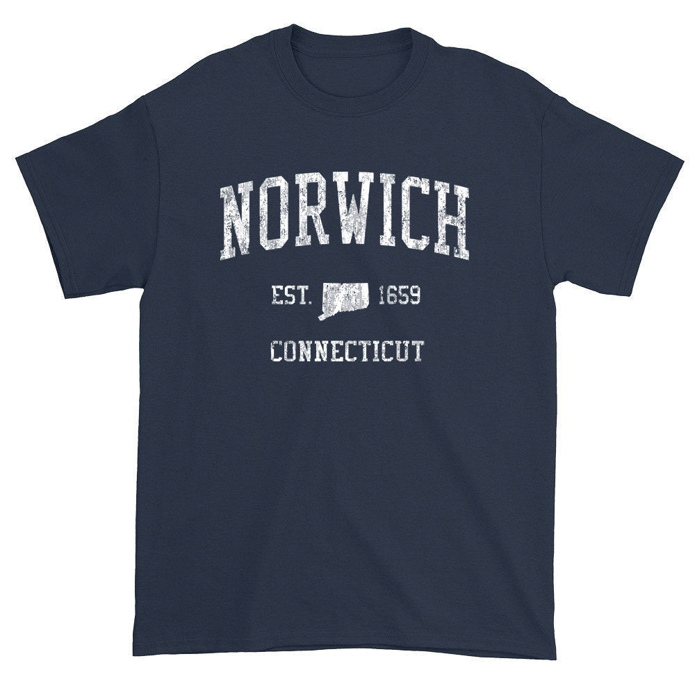 Vintage Norwich Connecticut CT T-Shirts