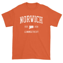 Vintage Norwich Connecticut CT T-Shirt Adult