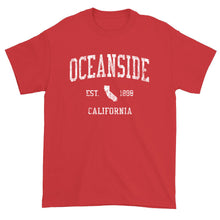 Vintage Oceanside California CA T-Shirt Adult