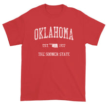 Vintage Oklahoma T-Shirt Sports Design Heavy Cotton Adult Tee