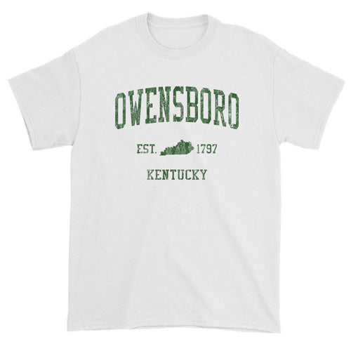 Vintage Owensboro Kentucky KY T-Shirts Red Print