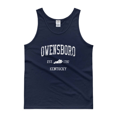 Vintage Owensboro Kentucky KY Tank Top Adult